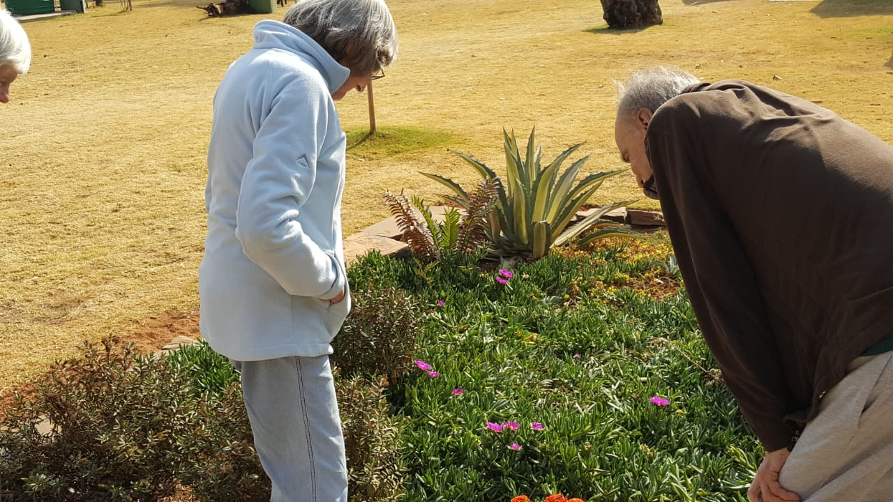 Those with Alzheimer's / Dementia do not lose interest in everything around them